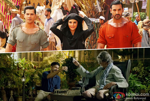 Dishoom Becomes 10th Highest Grosser Of 2016; Evicts Wazir From The List