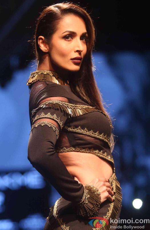 malaika Arora Khan During The Lakme Fashion Week Winter Festive 2016