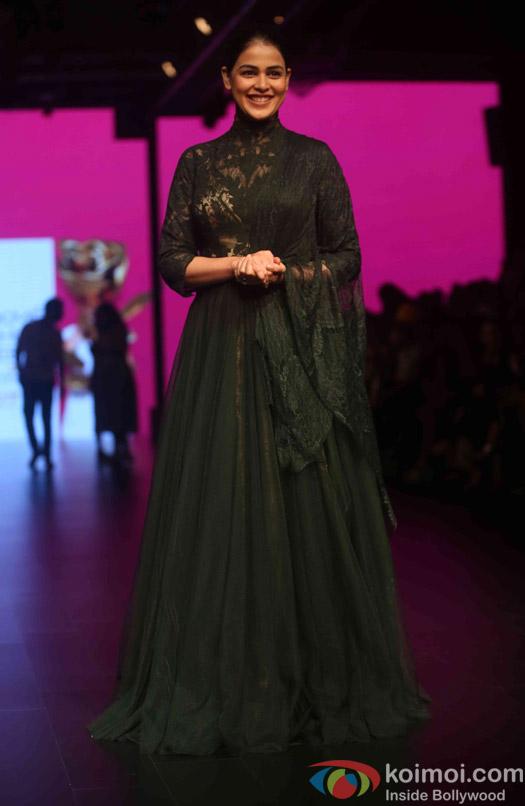 Genelia D'souza During The Lakme Fashion Week Winter Festive 2016