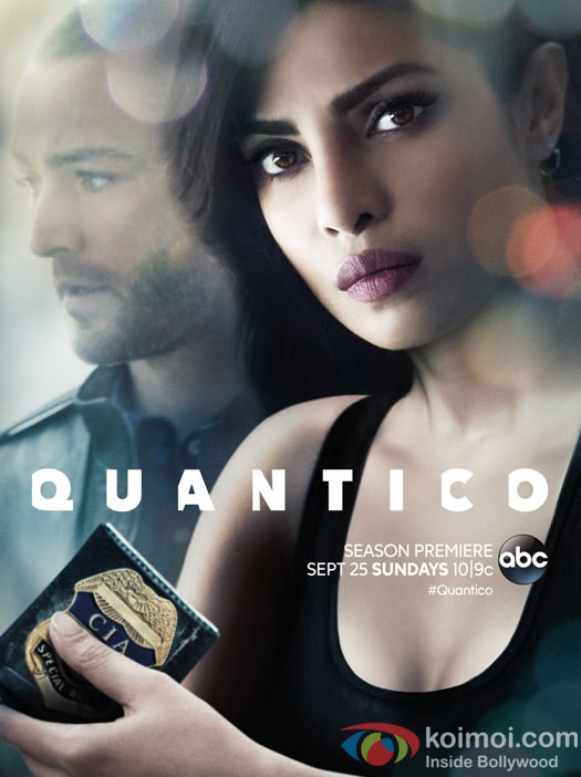 Priyanka Chopra revealed the poster of Quantico Season 2!