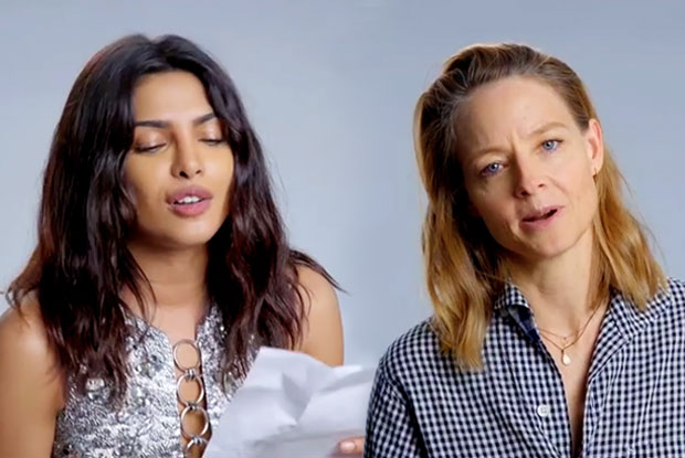 Priyanka Chopra teams with Jodie Foster to reinvent song