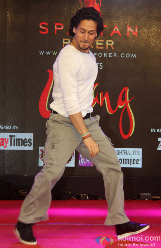 Tiger Shroff during the Promotion of film A Flying Jatt at Umang festival
