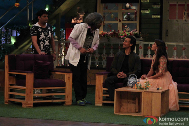 Promotion of film A Flying Jatt on the sets of The Kapil Sharma Show