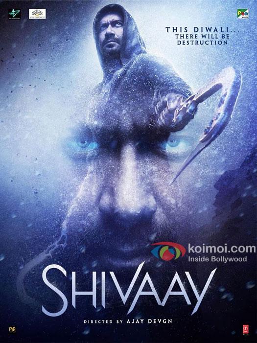 Ajay Devgn starrer Shivaay poster