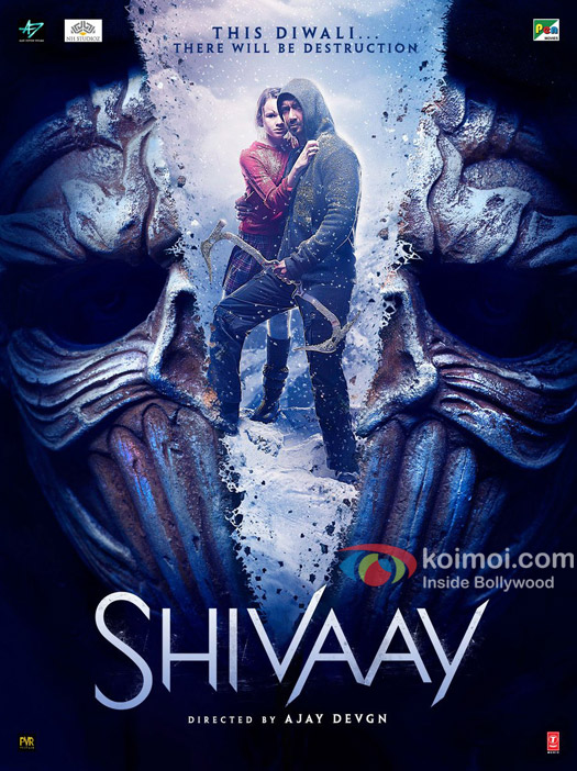 Shivaay New Poster All Set For Destruction