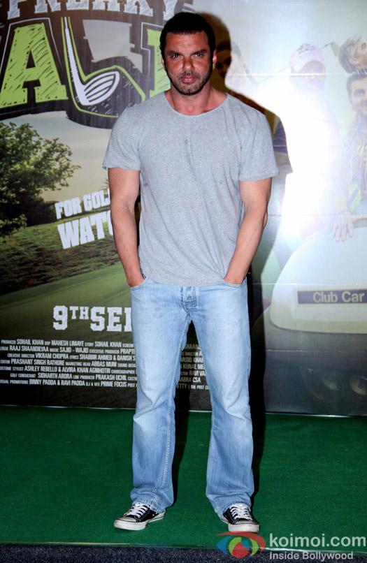 Sohail Khan during the trailer launch of film Freaky Ali