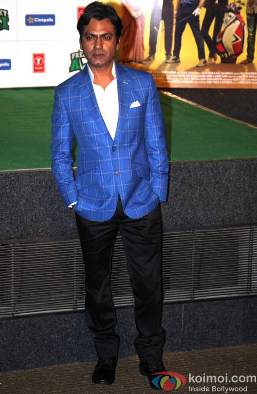 Nawazuddin Siddiqui during the trailer launch of film Freaky Ali