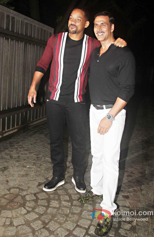 Will Smith joins Akshay Kumar's party