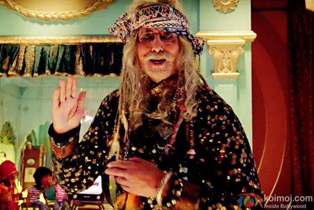 Amitabh Bachchan raps to 'Yo Se, Yo Se'