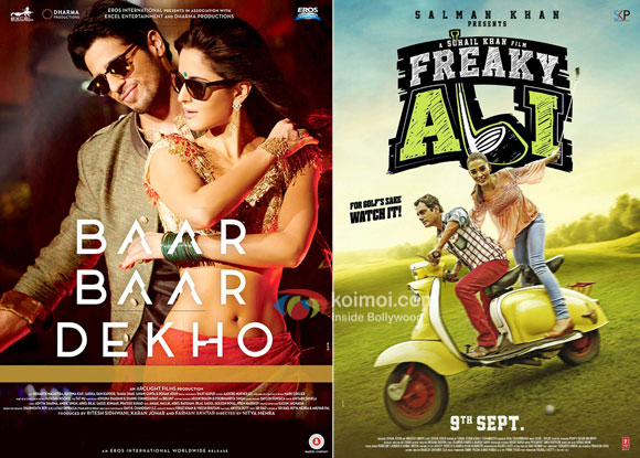 Baar Baar Dekho Opens Decent, Freaky Ali Starts Low| Morning Occupany Box Office Report