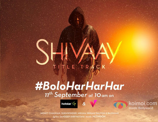 Bolo Har Har Har Song Poster | Ft. Ajay Devgn In An Intense Look
