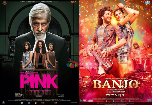 Box Office - Pink is one of the highest grossers for Big B, Shoojit and Taapsee, Banjo disappoints