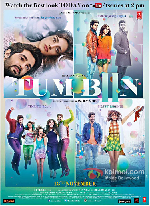 Neha Sharma, Aditya Seal and Aashim Gulati starrer first look poster of Tum Bin 2