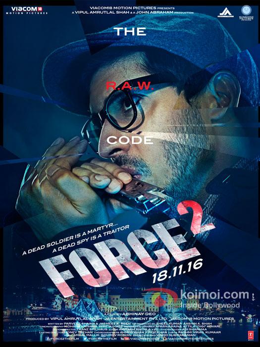 Tahir Bhasin starrer Force 2 poster