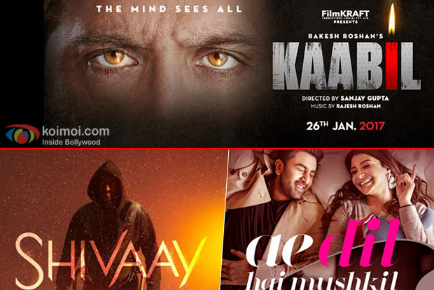Hrithik Roshan's Kaabil Trailer To Be Out with Shivaay And Ae Dil Hai Mushkil