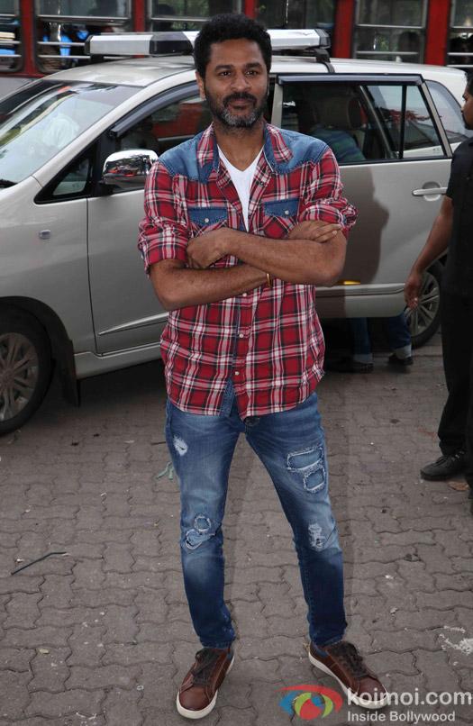 Prabhu deva during the launch of 'Tutak Tutak Tutiya' title track