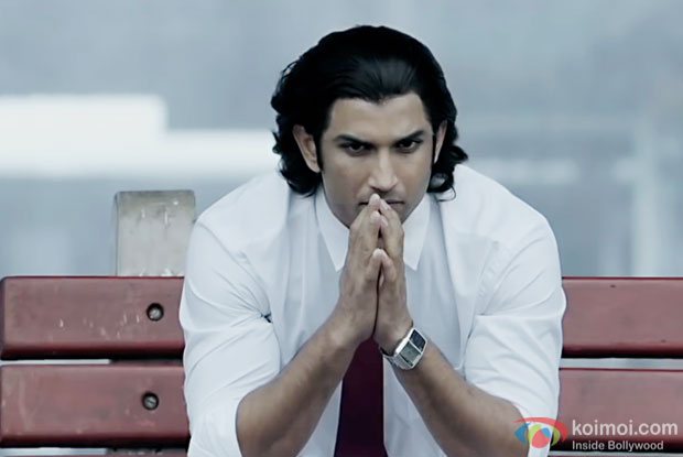 Sushant Singh Rajput in a still from M.S.Dhoni - The Untold Story
