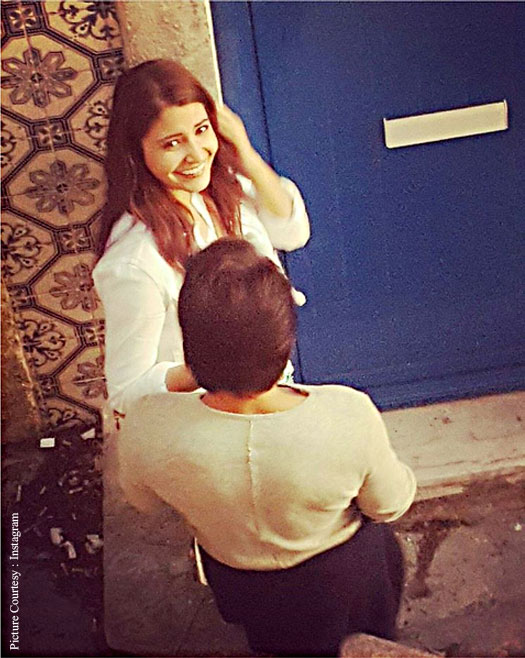 On The Sets Pictures : Anushka Sharma Shoot For The Ring's Third Schedule In Lisbon