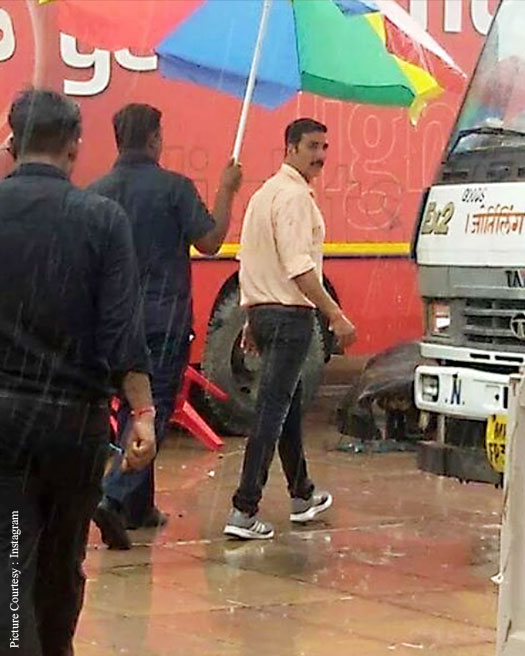 Pictures: Akshay Kumar On The Sets Of Jolly LLB 2