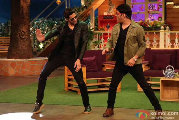 Sidharth Malhotra and Katrina Kaif Promote Bar Bar Dekho on the sets of The Kapil Sharma Show