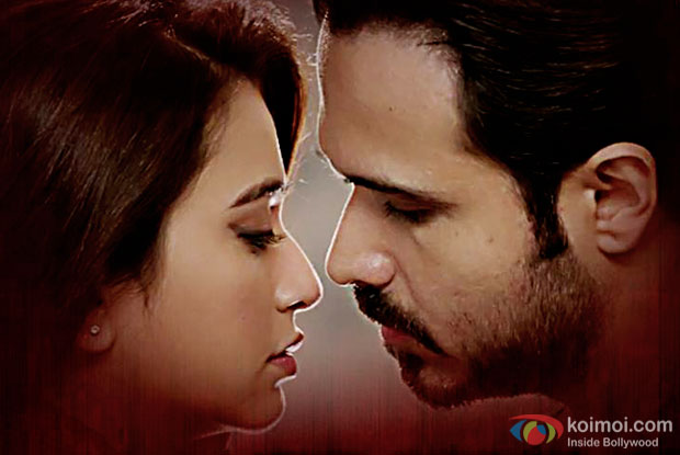 Kriti Kharbanda and Emraan Hashmi in a still from Raaz Reboot