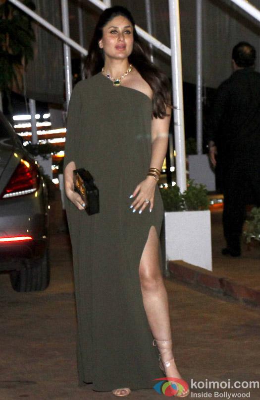 Kareena Kapoor during Rima Jain 60th birthday celebration