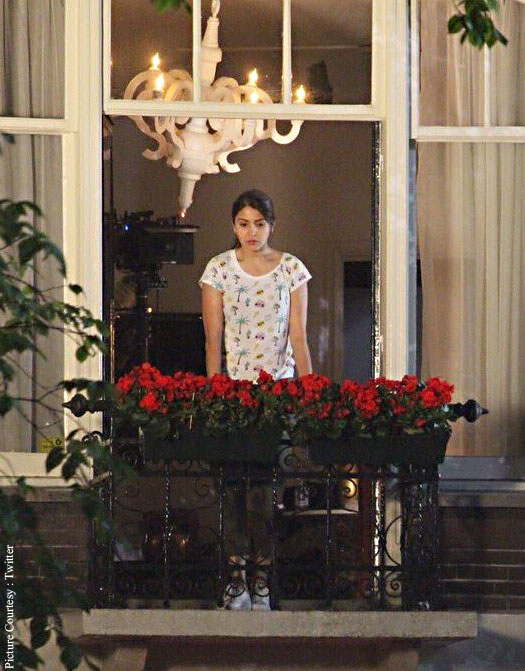Anushka Sharma On The Sets : The Ring