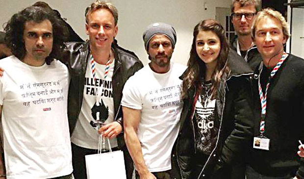 Shah Rukh Khan has finished the Amsterdam schedule of the upcoming film The Ring