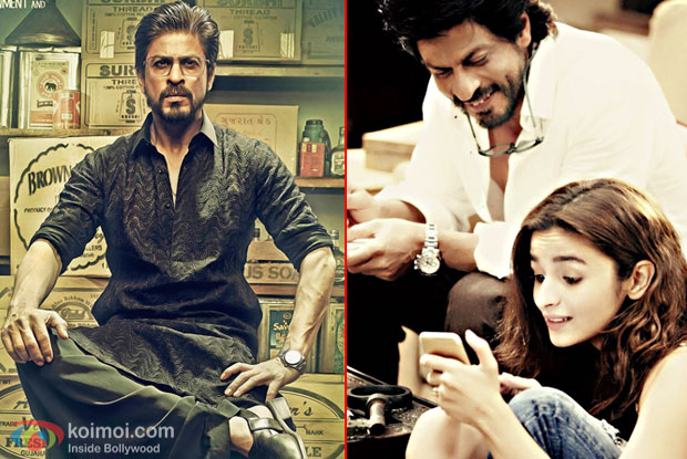 SRK's Raees Trailer Will Be Released With Dear Zindagi