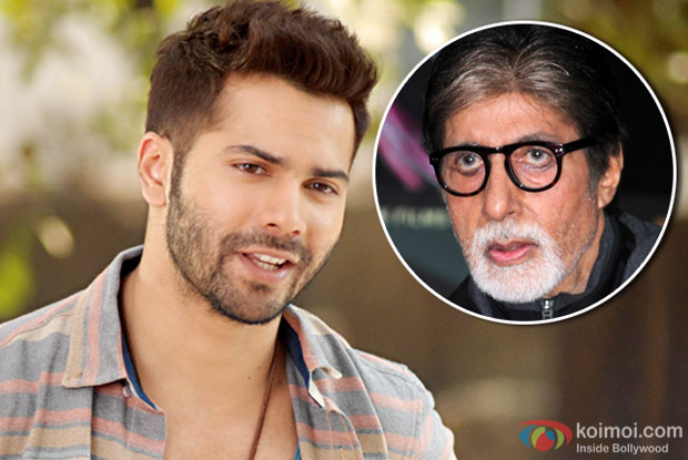 This is a rumour: Varun on working with Big B