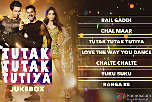 Enjoy The Full Audio Jukebox Of Prabhudheva-Tamannaah's Tutak Tutak Tutiya