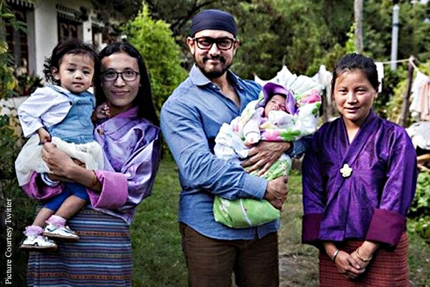 Aamir Khan travels to Bhutan to advocate against malnutrition