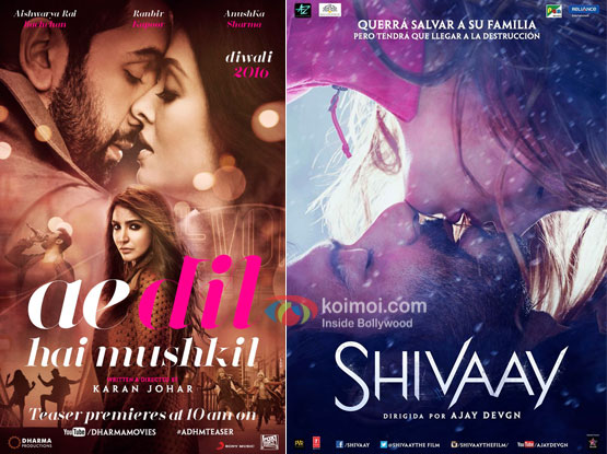 Ae Dil Hai Mushkil Opens Better Than Shivaay| Morning Occupancy Box Office Report