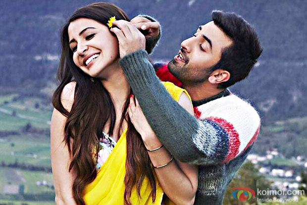 Anushka Sharma and Ranbir Kapoor in a still from Ae Dil Hai Mushkil