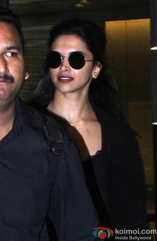 Deepika Padukone spotted at Airport