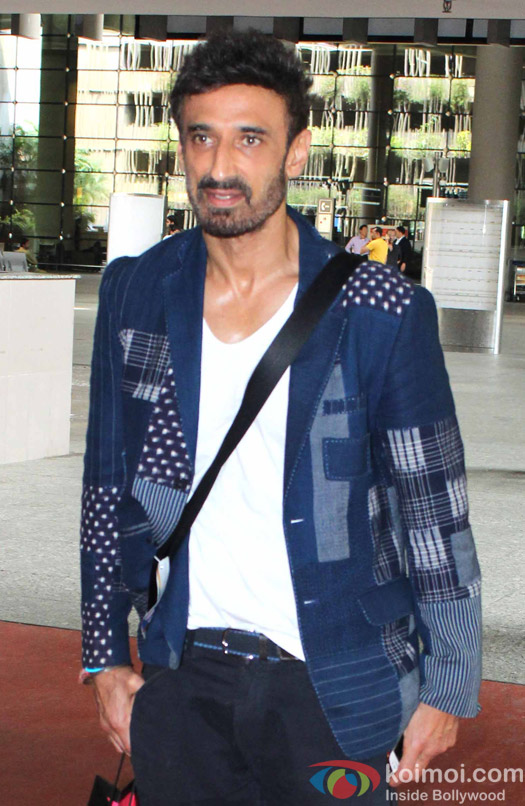 Rahul Dev spotted at Airport