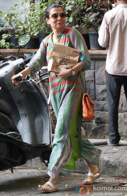 Mini Mathur Spotted at Bandra
