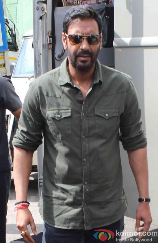 Ajay Devgn Promotes Shivaay On Savdhaan India