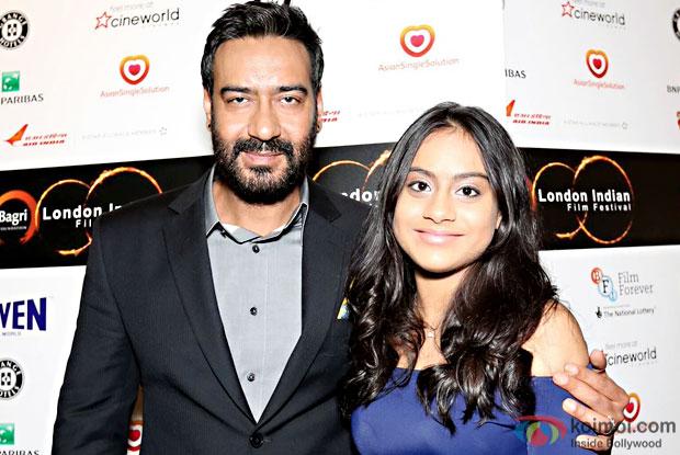 Ajay Devgn And Nysa