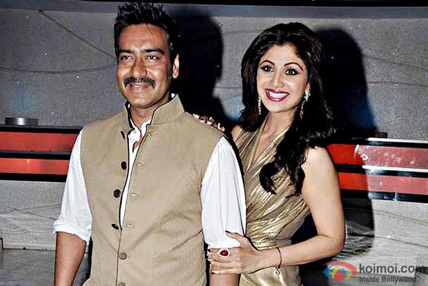 Ajay Devgn's cockroach prank on Shilpa Shetty