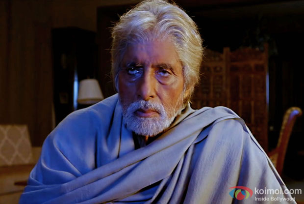 Amitabh Bachchan in a still from Pink