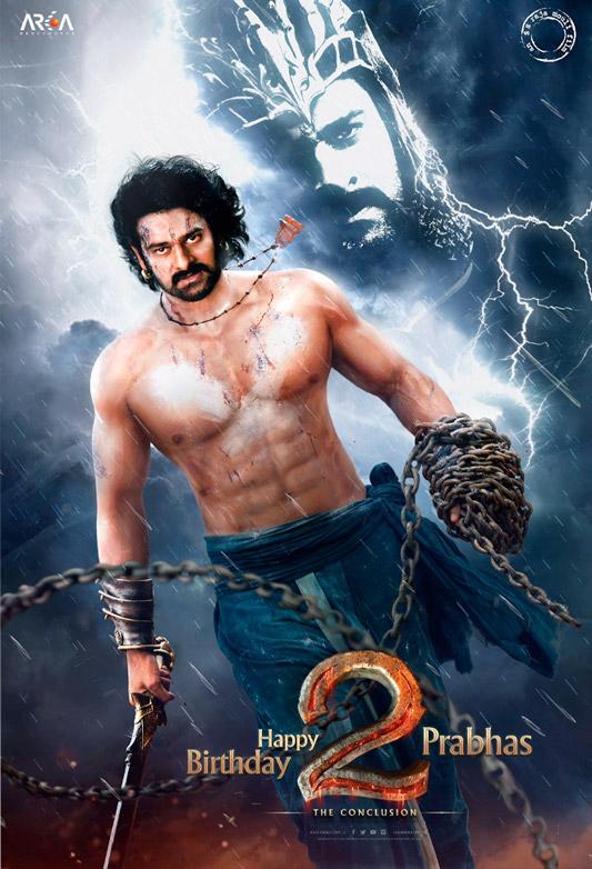 Baahubali 2: Prabhas' First Look As Mahendra Baahubali Is Here!