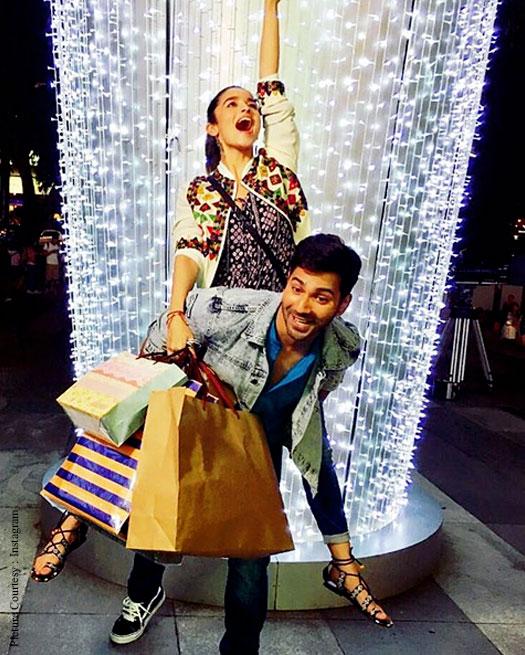 Badrinath Ki Dulhania Diwali Special : Alia Bhatt And Varun Dhawan's Shopping