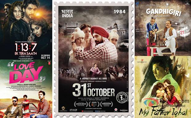 Box Office Predictions - 31st October, 1:13:7 - Ek Tera Saath, My Father Iqbal, Love Day, Gandhigiri