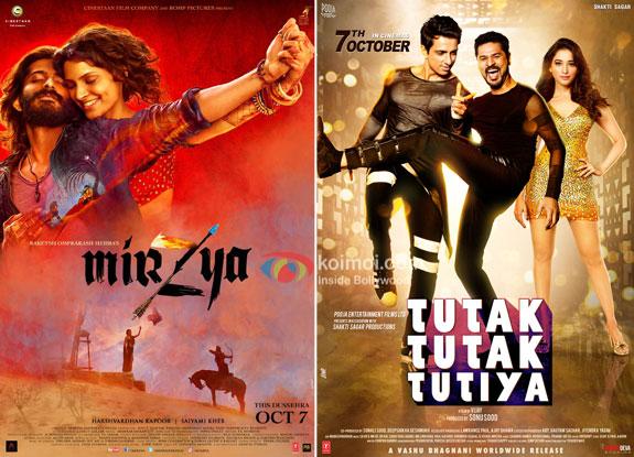 Mirzya, Tutak Tutak Tutiya - Box Office Predictions
