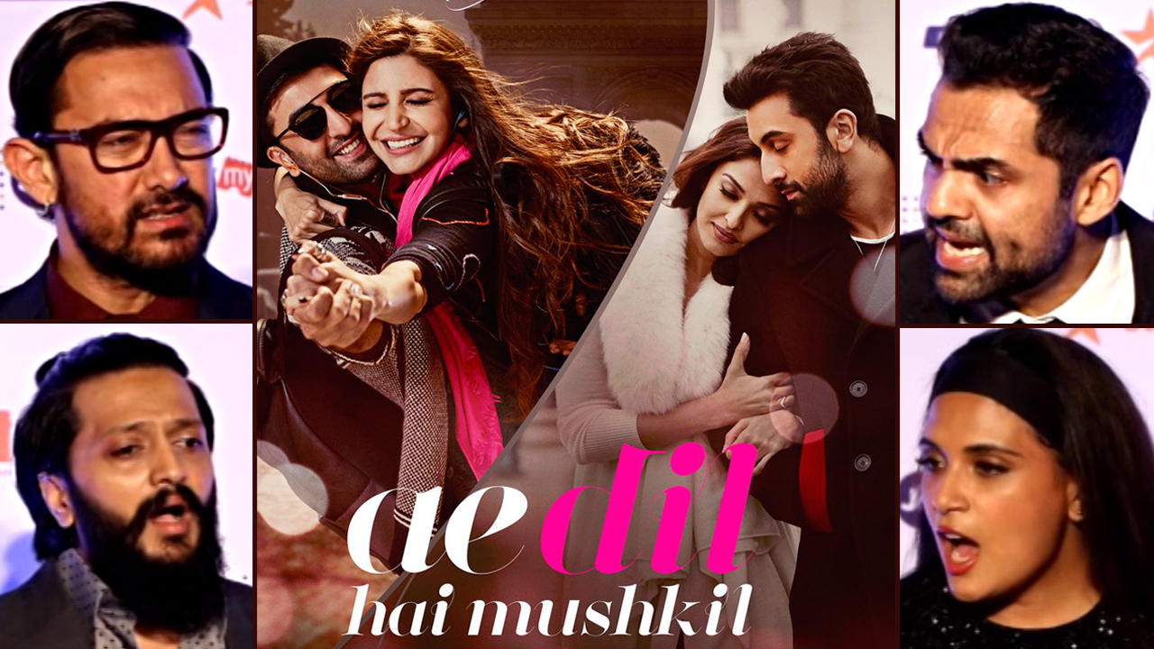 Celebrities React To Ae Dil Hai Mushkil's Controversy