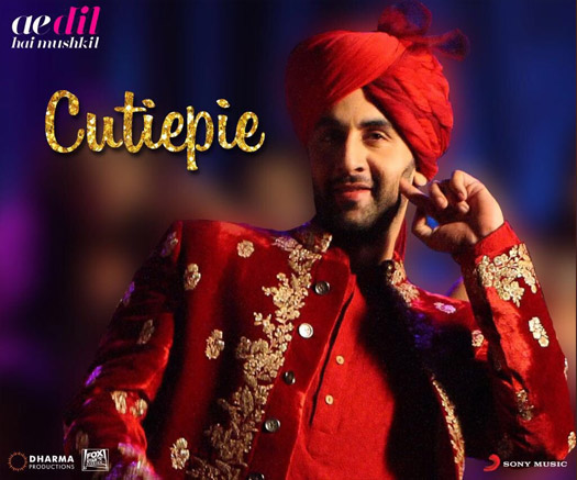 Cutie Pie Song Still: Ranbir Kapoor In Ae Dil Hai Mushkil's Most Filmy Song