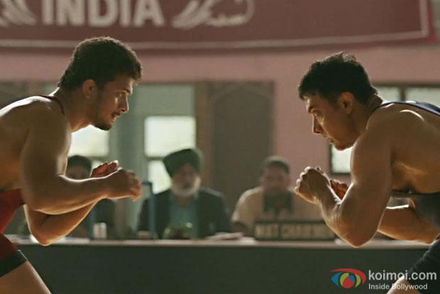 Aamir Khan in a still from Dangal