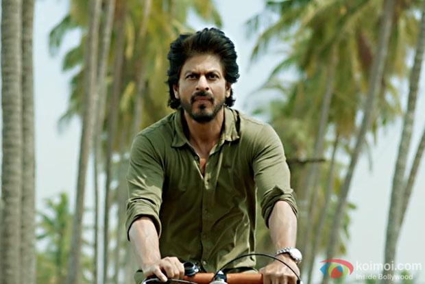 Shah Rukh Khan in a still from Dear Zindagi