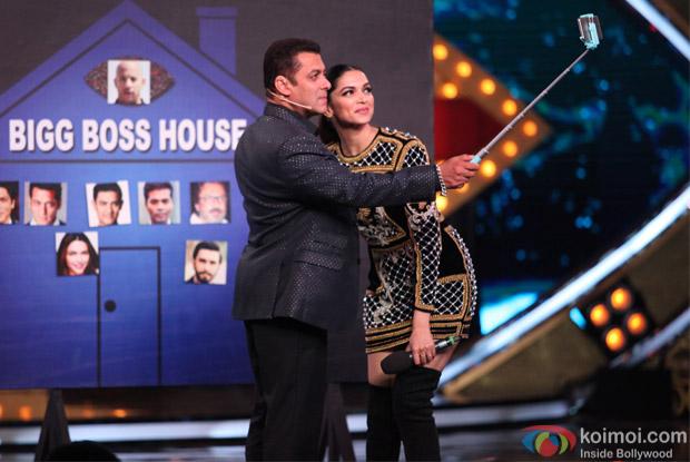 Deepika Padukone and Salman Khan Host grand launch of Bigg Boss 10